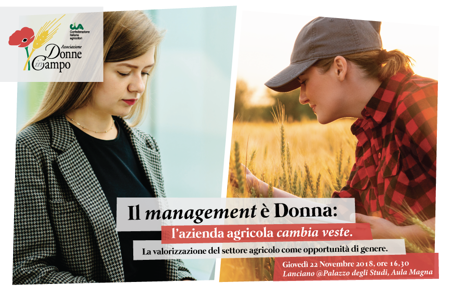 Evento Donne in Campo - Il Management è Donna: l